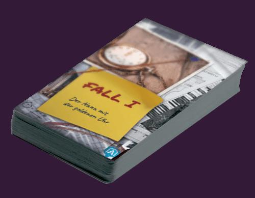 Detective - Kartendeck Fall 1